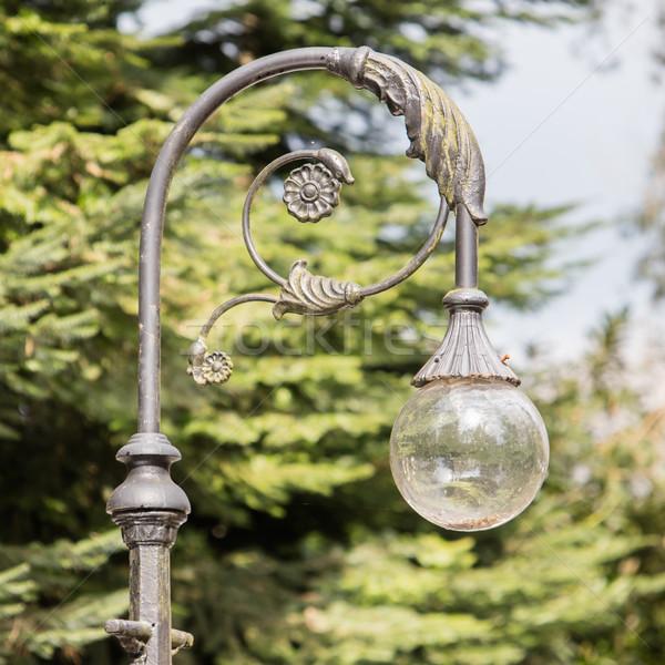 Decorative street lamp-post Stock photo © michaklootwijk