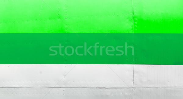 Old airplane body - Green Stock photo © michaklootwijk