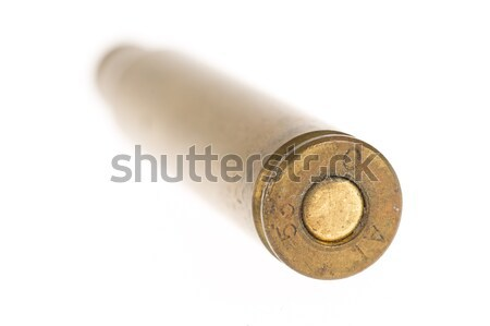 Empty shell casing against gradient Stock photo © michaklootwijk