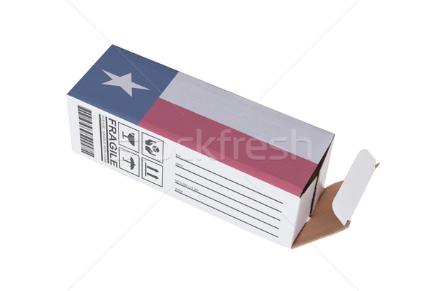 Eksport produktu Texas papieru polu Zdjęcia stock © michaklootwijk