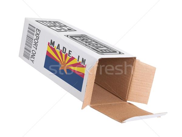 Concept of export - Product of Arizona Stock photo © michaklootwijk