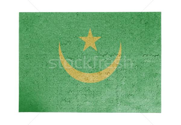 Large jigsaw puzzle of 1000 pieces - Mauritania Stock photo © michaklootwijk