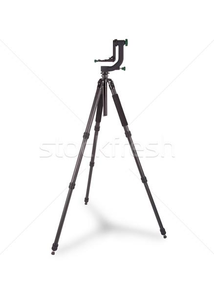 Black camera tripod Stock photo © michaklootwijk