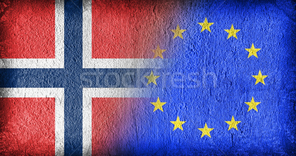 Norway and the EU Stock photo © michaklootwijk