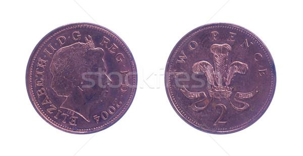 British two pence Stock photo © michaklootwijk