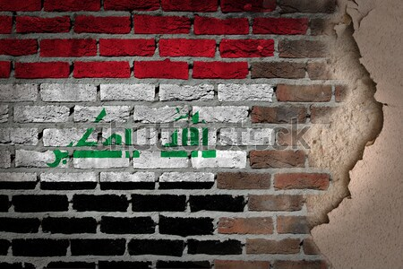 Dark brick wall - LGBT rights - Iraq Stock photo © michaklootwijk