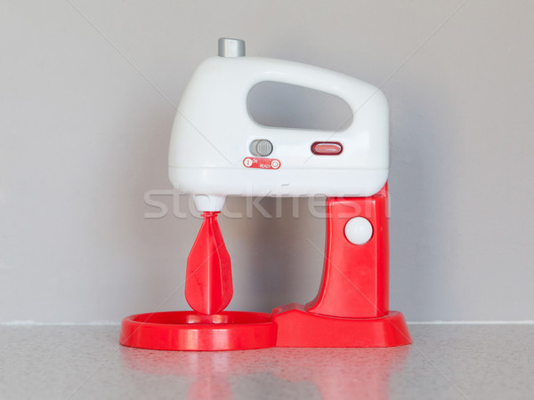 Toy cooking mixer or blender Stock photo © michaklootwijk