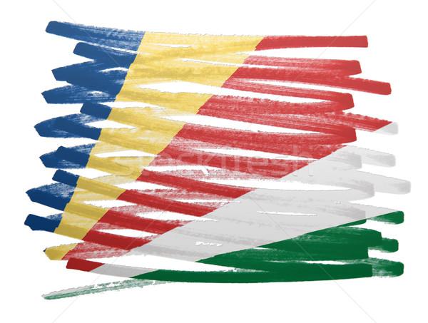 Flag illustration - Seychelles Stock photo © michaklootwijk