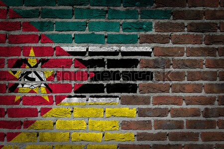 Dark brick wall - LGBT rights - Angola Stock photo © michaklootwijk