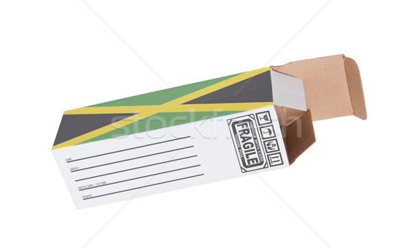 Concept of export - Product of Jamaica Stock photo © michaklootwijk