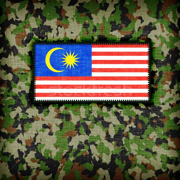 Uniforme Malaysia bandiera texture abstract Foto d'archivio © michaklootwijk