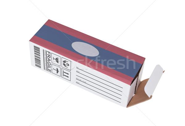 Eksport produktu Laos papieru polu Zdjęcia stock © michaklootwijk