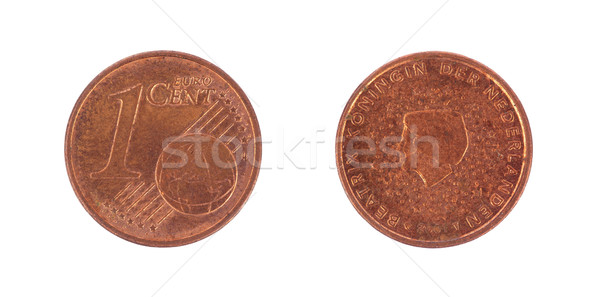 One euro cents coin Stock photo © michaklootwijk