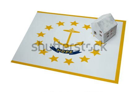 Flag burning - Rhode Island Stock photo © michaklootwijk