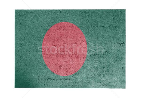 Grande 1000 peças Bangladesh bandeira Foto stock © michaklootwijk