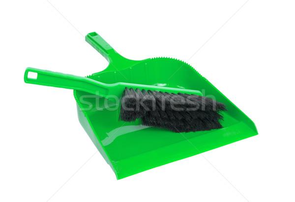 Poeira panela escove limpeza conjunto casa Foto stock © michaklootwijk