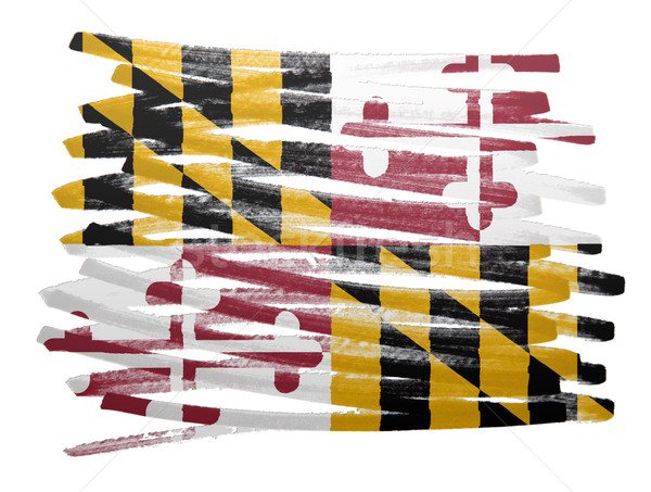 Flag illustration - Maryland Stock photo © michaklootwijk