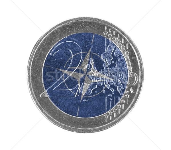 Euro coin, 2 euro Stock photo © michaklootwijk
