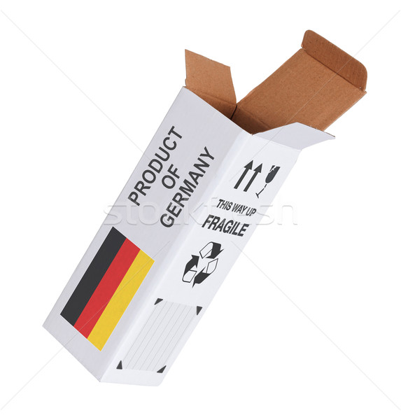 Concept of export - Product of Germany Stock photo © michaklootwijk