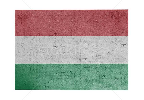 1000 sztuk Węgry banderą Zdjęcia stock © michaklootwijk