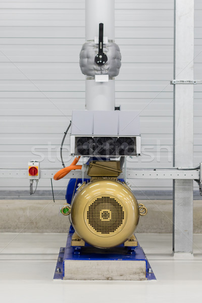 Electrical generator used for distributing water Stock photo © michaklootwijk