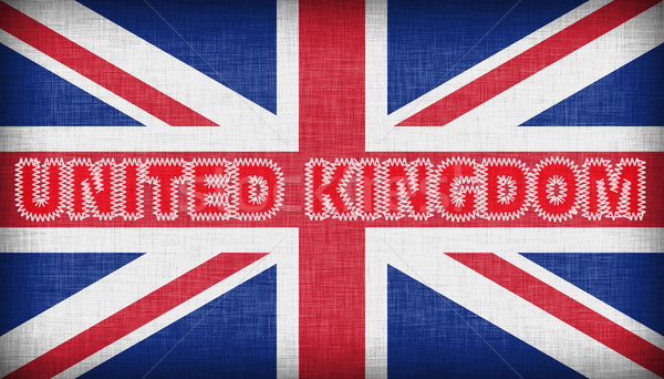 Flag of the UK isolated Stock photo © michaklootwijk