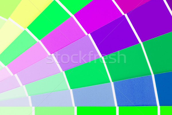 Vector colour card Stock photo © michaklootwijk