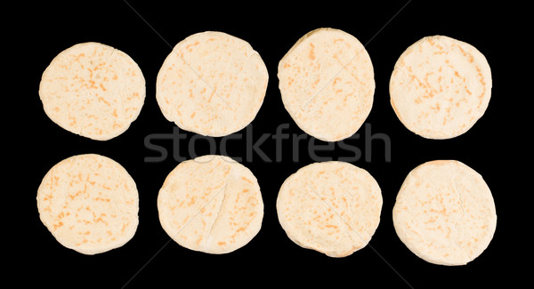 Israeli flat bread pita Stock photo © michaklootwijk