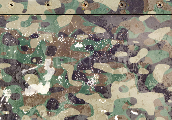 Peça aeronave grunge metal exército velho Foto stock © michaklootwijk
