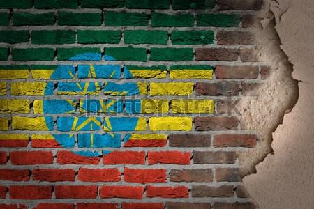 Dark brick wall - LGBT rights - New Jersey Stock photo © michaklootwijk