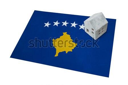 Flag burning - Kosovo Stock photo © michaklootwijk