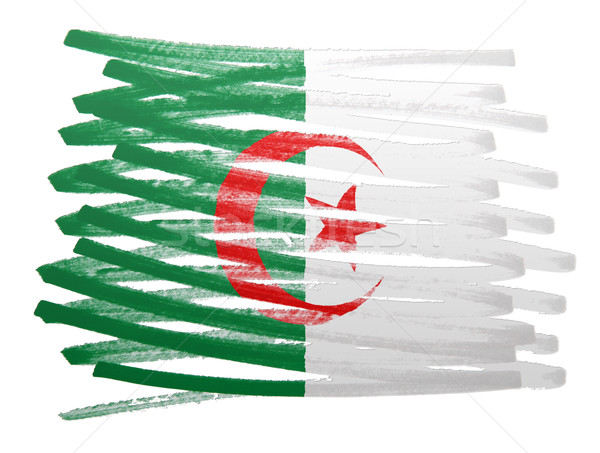 Pavillon illustration Algérie stylo affaires peinture Photo stock © michaklootwijk