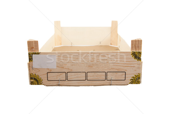 Used wooden crate Stock photo © michaklootwijk