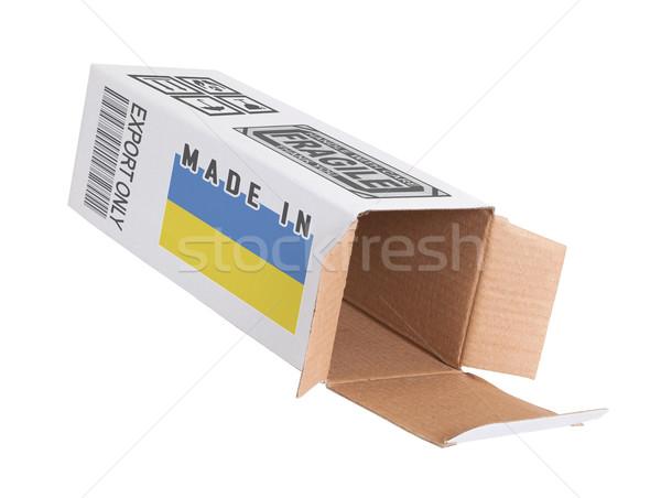 Concept of export - Product of Ukraine Stock photo © michaklootwijk