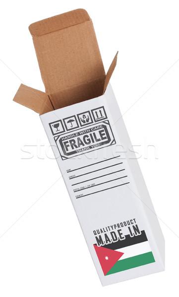 Eksport produktu Jordania papieru polu Zdjęcia stock © michaklootwijk