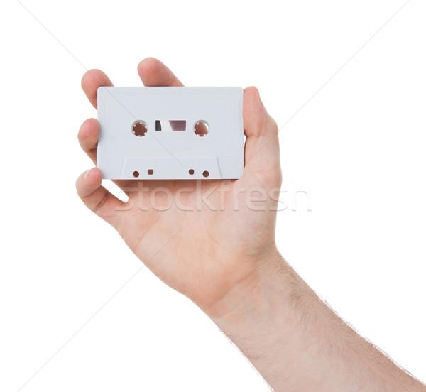 Vintage audio cassette tape Stock photo © michaklootwijk