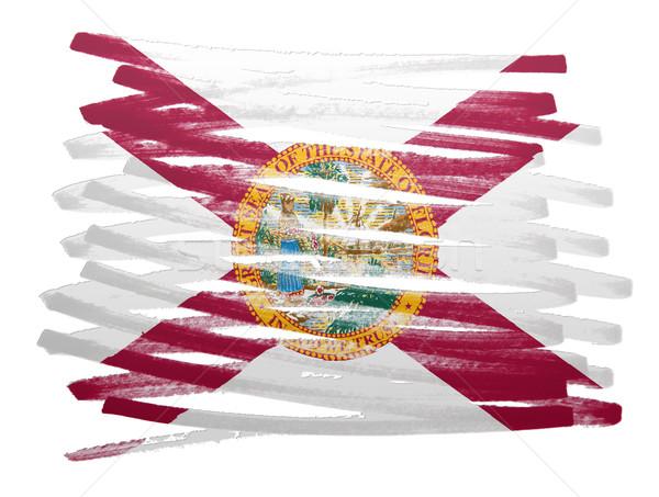 Bandeira ilustração Flórida caneta negócio pintar Foto stock © michaklootwijk
