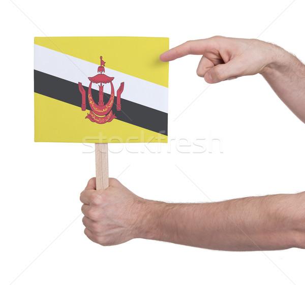 стороны небольшой карт флаг Бруней Сток-фото © michaklootwijk