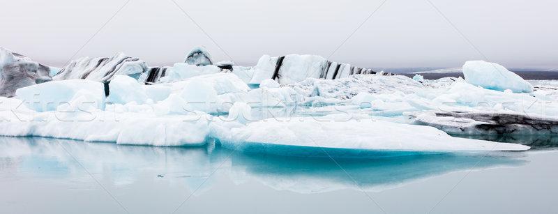 Nagy tó délkelet jég üzlet víz Stock fotó © michaklootwijk