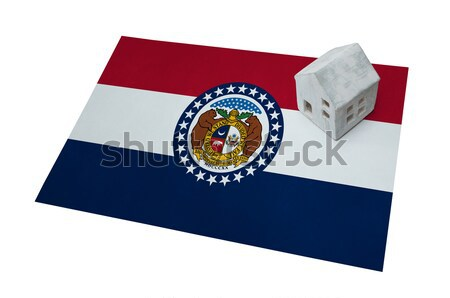 Usado plástico mala impresso bandeira Foto stock © michaklootwijk