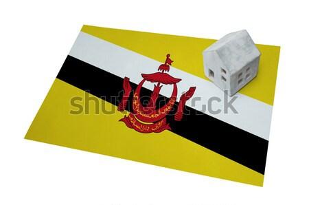 флаг сжигание Бруней войны кризис огня Сток-фото © michaklootwijk