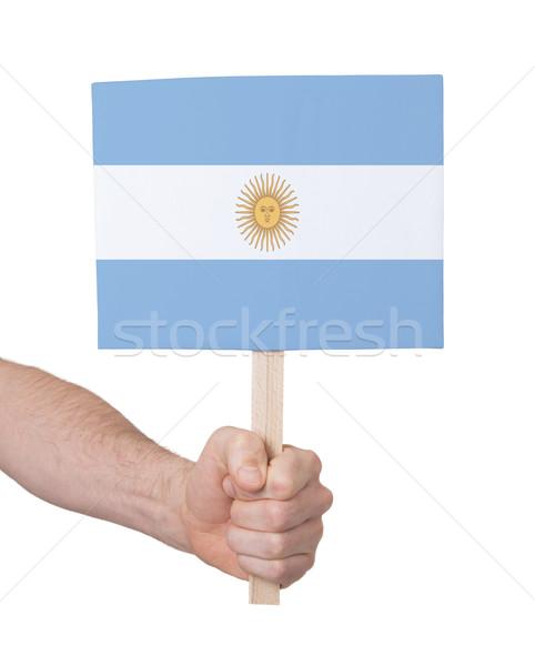 стороны небольшой карт флаг Аргентина Сток-фото © michaklootwijk