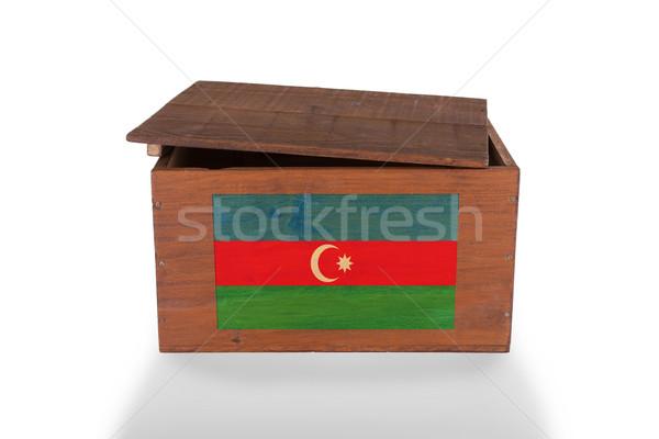 Stockfoto: Houten · geïsoleerd · witte · product · Azerbeidzjan