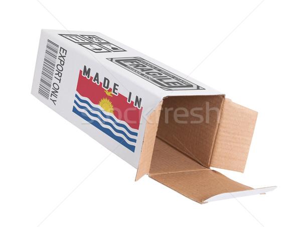 Eksport produktu Kiribati papieru polu Zdjęcia stock © michaklootwijk