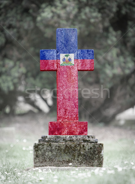Gravestone in the cemetery - Liechtenstein Stock photo © michaklootwijk