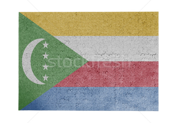 Large jigsaw puzzle of 1000 pieces - Comoros Stock photo © michaklootwijk