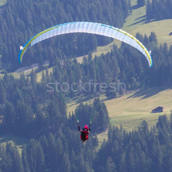 Amateur paraglider Stock photo © michaklootwijk