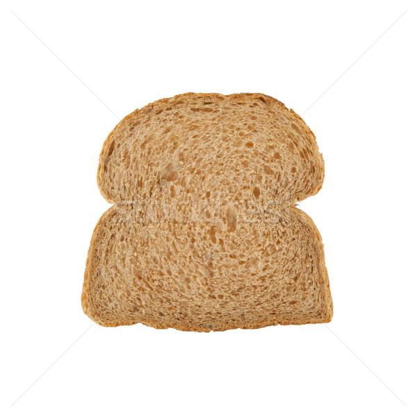 Slice of brown bread Stock photo © michaklootwijk
