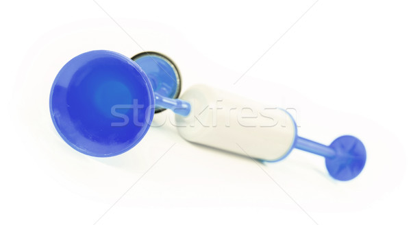 Manual air horn isolated Stock photo © michaklootwijk