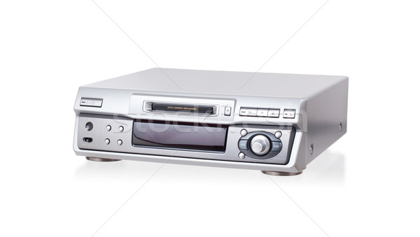 Mini-Disc player, isolated Stock photo © michaklootwijk